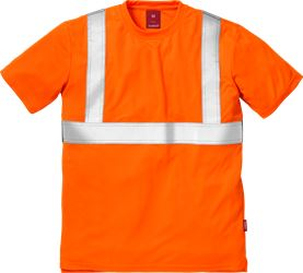 High vis t-shirt cl 2 7411 TP Kansas Medium