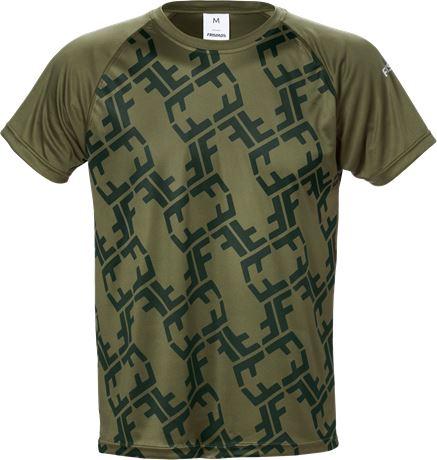 Friwear T-shirt 7456 LKN 1 Fristads  Large