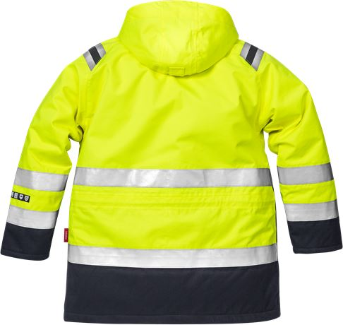 Flamestat High Vis Winterparka Kl. 3 4086 ATHR 2 Kansas  Large