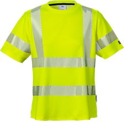 Varsel T-shirt 7458 THV klass 2, dam Fristads Medium