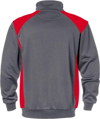 Sweatshirt med kort dragkedja 7048 SHV 2 Fristads  Large