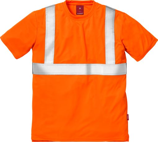 Hi Vis T-shirt kl.2 7411 1 Kansas  Large