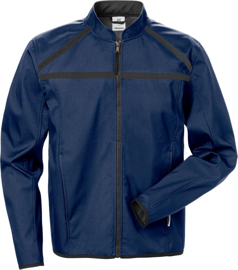 Fristads Men's Softshell-jacka 4557 LSH, Mörk marinblå