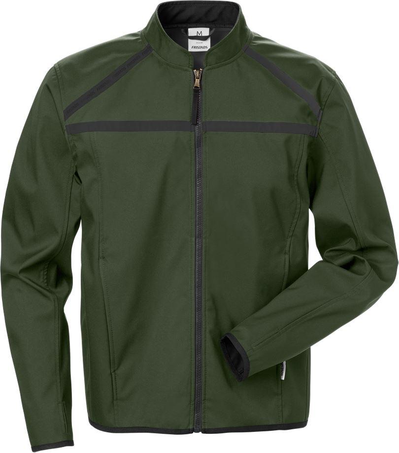 Fristads Men's Softshell-jacka 4557 LSH, Militärgrön