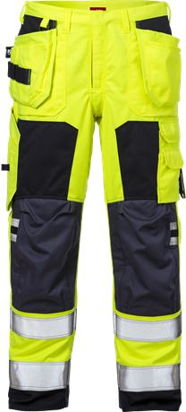 Flamestat high vis craftsman trousers cl 2 2075 ATHS 1 Kansas  Large