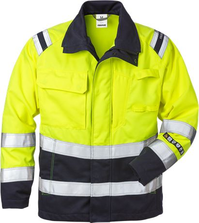 Flamestat high vis jacket class 3 4175 ATHS 1 Fristads