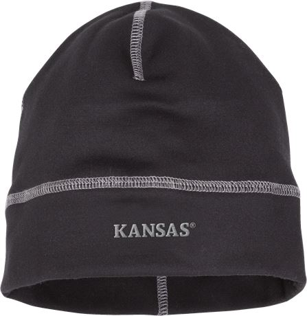 Stretch fleece beanie 9101 STF 2 Kansas  Large