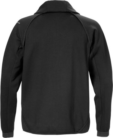 Hooded sweat jacket 7462 DF 4 Fristads  Large