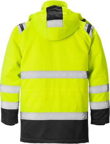 High vis winterparka klasse 3 4042 PP 2 Fristads  Large