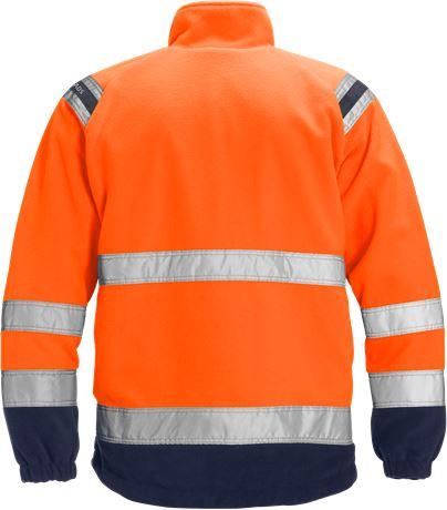 High vis fleece jacket class 3 4041 FE 2 Fristads  Large