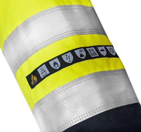 Flamestat high vis Airtech® winter parka class 3 4086 ATHR 4 Fristads  Large