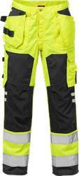 Hi Vis håndværker bukser kl.2 2025 Kansas Medium