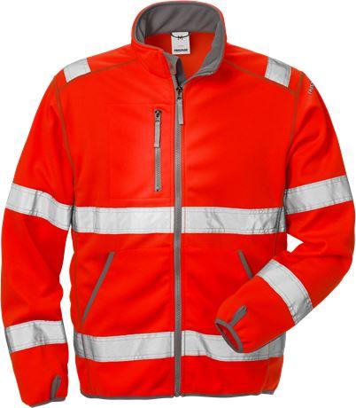 Hi Vis softshell jakke kl.3 4840 1 Fristads  Large