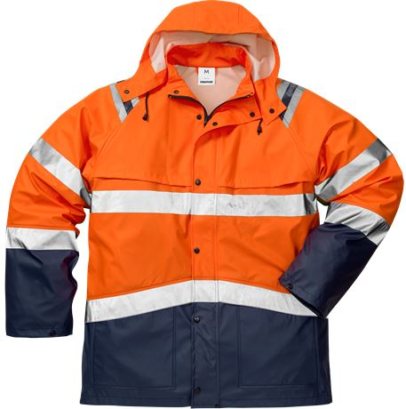 High Vis Regenjacke Kl. 3 4624 RS 1 Fristads  Large