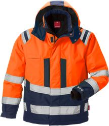 High Vis Winterjacke Kl. 3, Stormsafe Kansas Medium