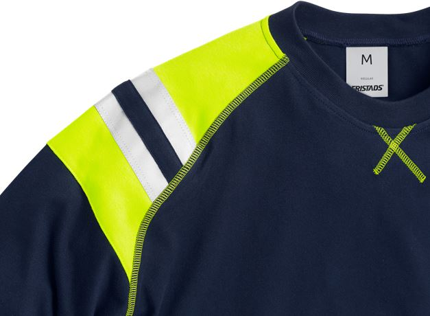 Flamestat langærmet T-shirt 7072 3 Fristads  Large
