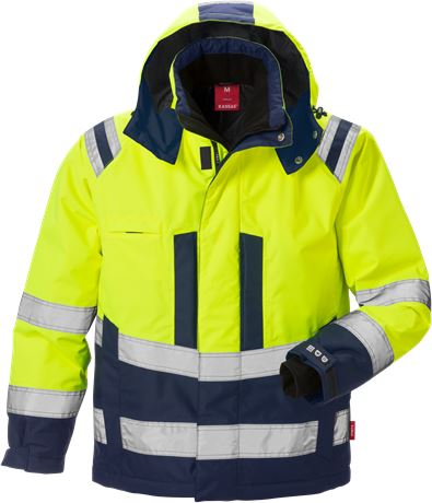 High Vis Winterjacke Kl. 3, Stormsafe 1 Kansas  Large