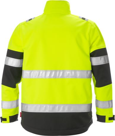 Hi Vis Softshelljakke kl.2 2 Kansas  Large