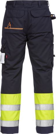 Flamestat Hi Vis trousers cl 1 2176 ATHS 2 Kansas  Large