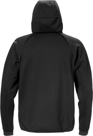Hooded sweat jacket 7462 DF 3 Fristads  Large