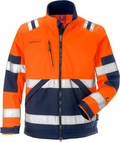High Vis Softshell-Jacke Kl. 2 4083 WYH 1 Kansas