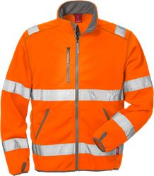 Hi Vis softshell jakke kl.3 4840 Kansas Medium
