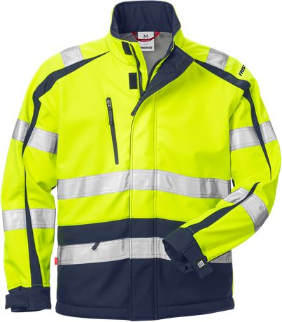 High vis WINDSTOPPER® jacket cl 3 744 GWG 1 Fristads  Large