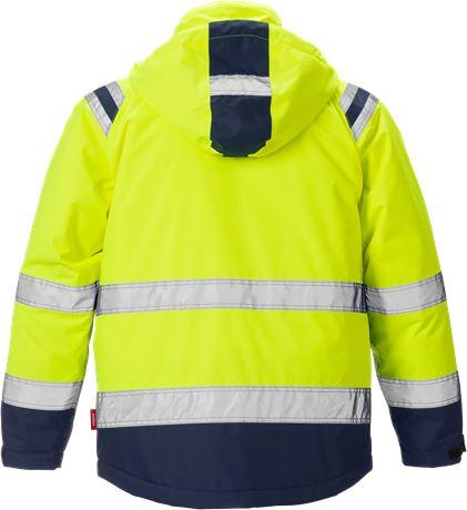 High vis winter jacket class 3, Stormsafe 2 Kansas  Large