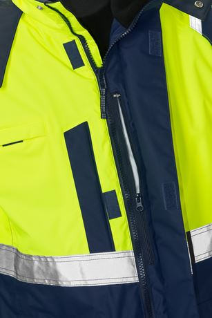 High Vis Airtech® 3in1 Parka Kl. 3 4036 GTT 6 Kansas  Large