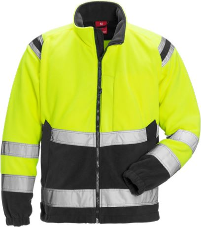 Hi Vis fleece jacket, cl. 3 1 Kansas  Large