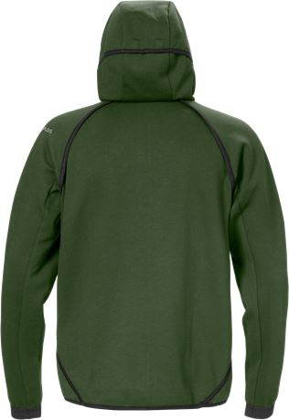 Hooded sweat jacket 7462 DF 2 Fristads  Large