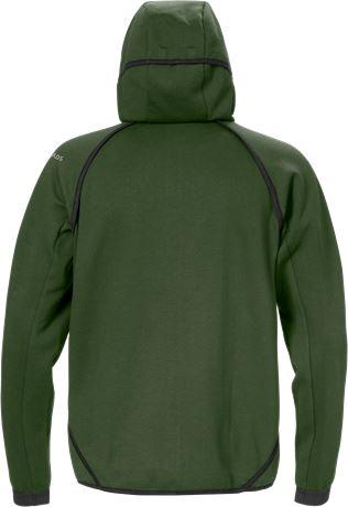 Sweatshirt-jacka med huva 7462 DF 2 Fristads  Large