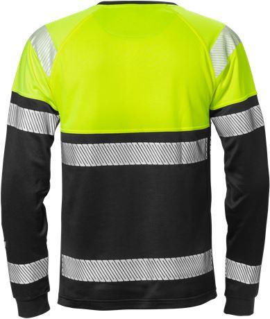 High vis long sleeve t-shirt class 1 7519 THV 2 Fristads  Large