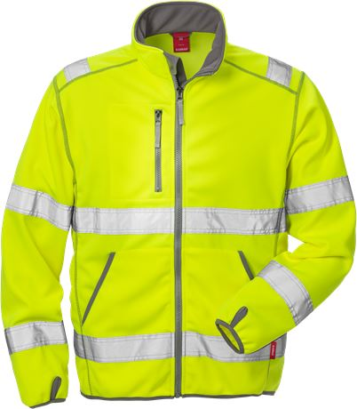 Hi Vis softshell jakke kl.3 4840 1 Kansas  Large