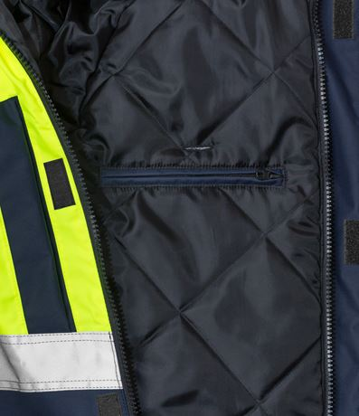 High vis winter jacket class 3, Stormsafe 3 Kansas  Large
