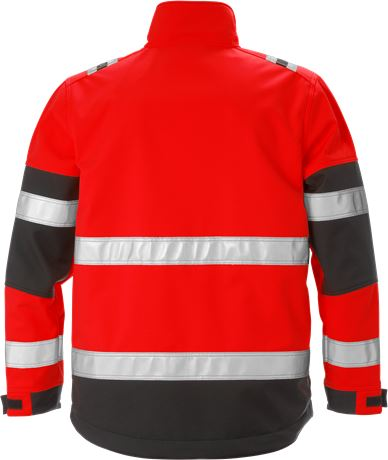High vis softshell jacket class 2 4083 WYH 2 Fristads  Large