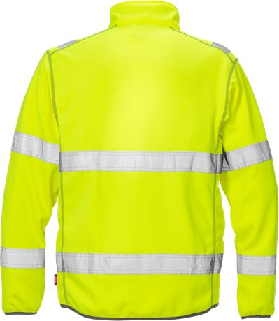 Hi Vis softshell jakke kl.3 4840 3 Kansas  Large