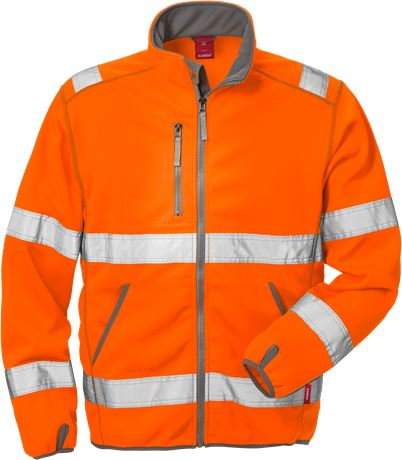High Vis Softshell-Jacke Kl. 3 4840 SSL 2 Kansas  Large