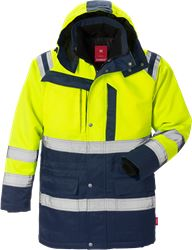 Hi Vis parka jakke kl.3 4042 Kansas Medium