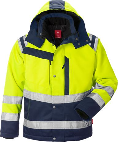 High Vis Winterjacke Kl. 3 4043 PP 1 Kansas  Large