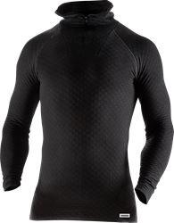 Half zip long sleeve t-shirt 742 PC Fristads Medium