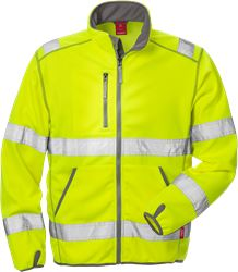 High Vis Softshell-Jacke Kl. 3 4840 SSL Kansas Medium