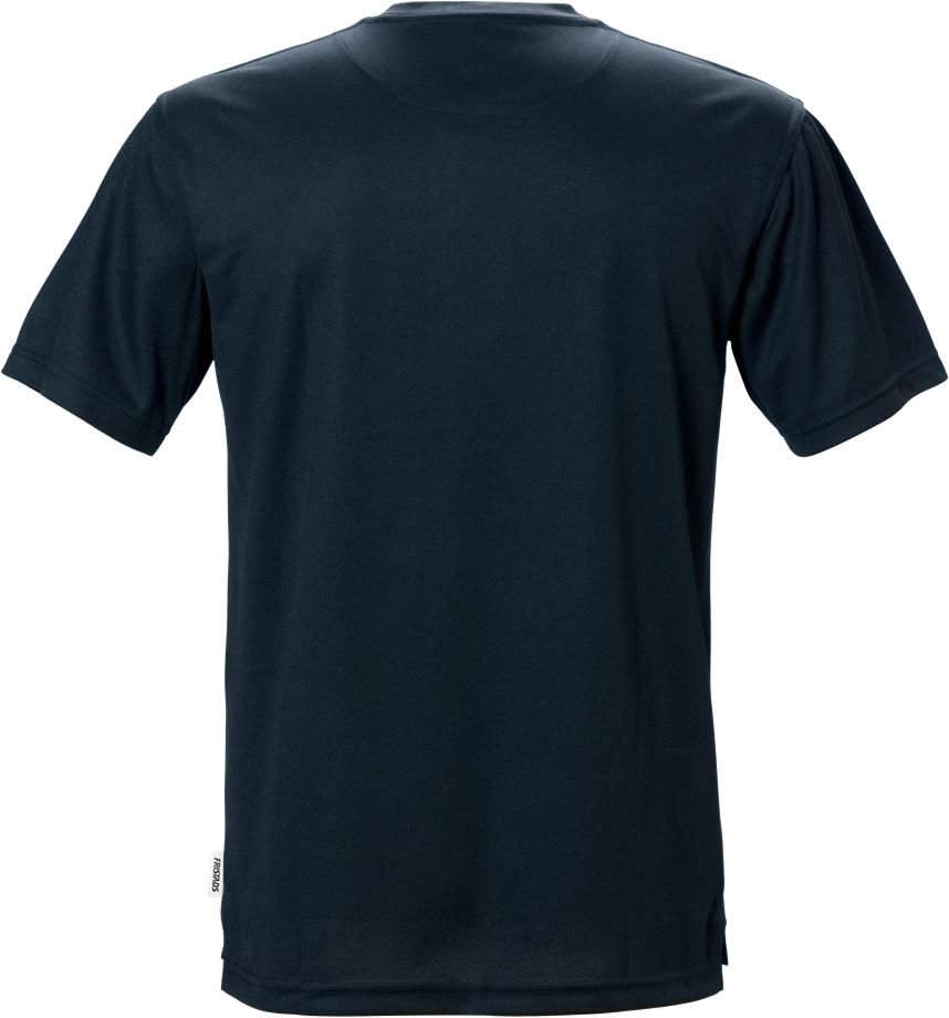 Fristads Men's Coolmax Funktions T-shirt 918 PF, Mörk marinblå