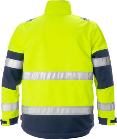 Hi Vis softshelljakke kl. 2 2 Kansas  Large