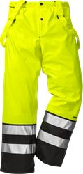 High vis rain trousers cl 2 2625 RS Fristads Medium