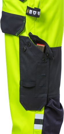 Flamestat highvis stretch trousers class 2 2161 ATHF 3 Fristads  Large