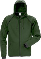 Felpa full zip con cappuccio 7462 DF Fristads Medium
