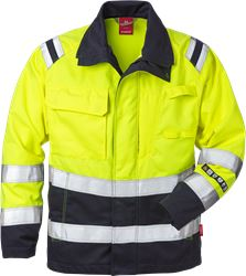 Flamestat Hi Vis jakke kl.3 4175 Kansas Medium