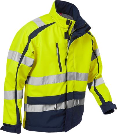High vis WINDSTOPPER® jacket cl 3 744 GWG 2 Fristads  Large