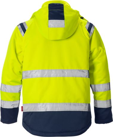 High Vis Winterjacke Kl. 3 4043 PP 2 Kansas  Large